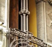 Balcone di Casa Milza-Piacenza