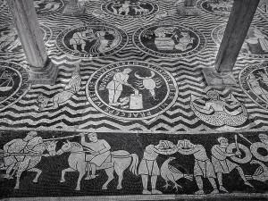 Piacenza- Chiesa di San Savino- I Mesi