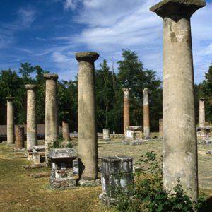 Gita scolastica a Veleia Romana, i romani a Piacenza