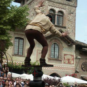 Visita a Grazzano Visconti, giochi medievali, medioevo a Piacenza